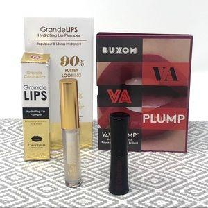 Buxom Shiny Liquid Lipstick & Grande Plumper Minis
